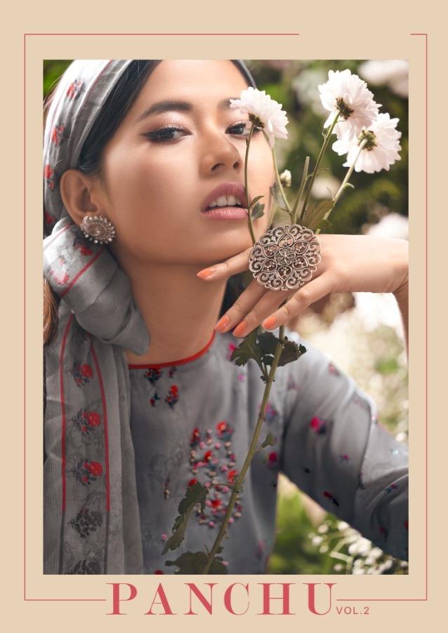 Volono Trendz Panchu Vol 2 Pure Glace Cotton Casual Wear Dress