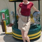 I could be an airline hostess in the60′s…