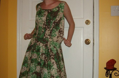Day 7: Frolic in Clover Dress 7