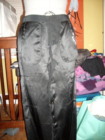 Day 19:  Silk Cargo Skirt 5