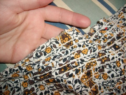 Day 28:  Pretty in Paisley Dress 3