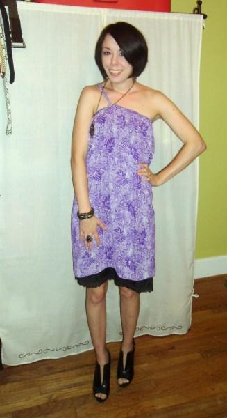 Day 86: Purple Rainforest Dress...Take 2! 8