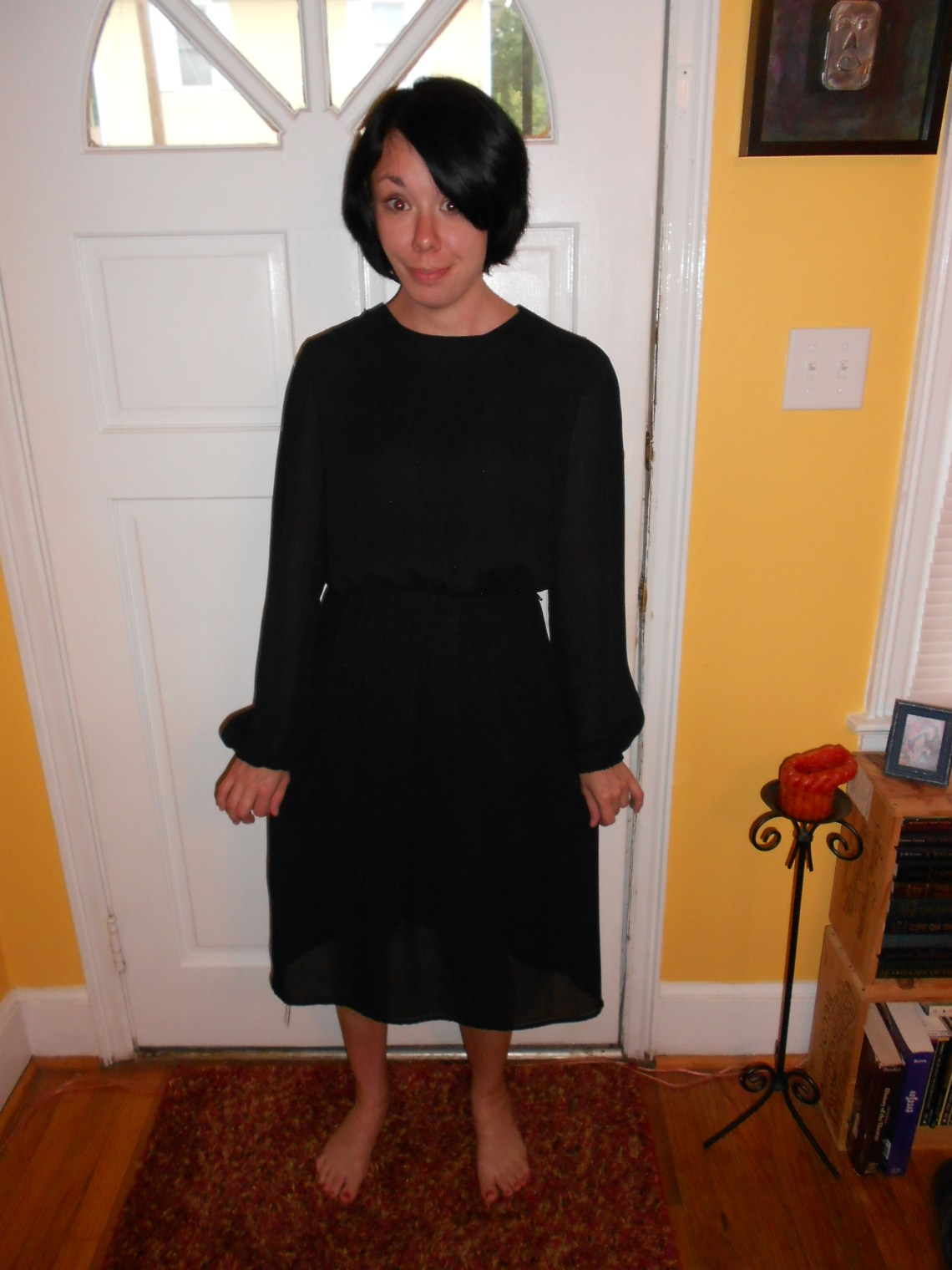 Day 72:  From Little Black Mess to Little Black Dress 1