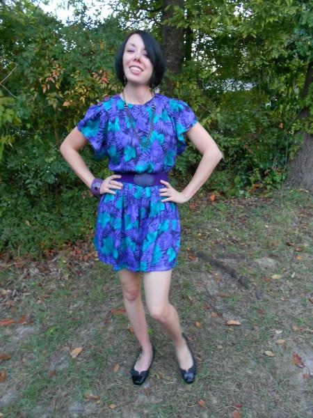 Day 77:  Jungle Love Dress 9