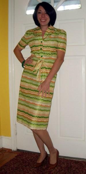 Day 113:  Citrus Grove Dress 6
