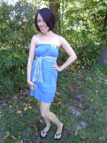 Day 108:  Blue Wish Dress 4