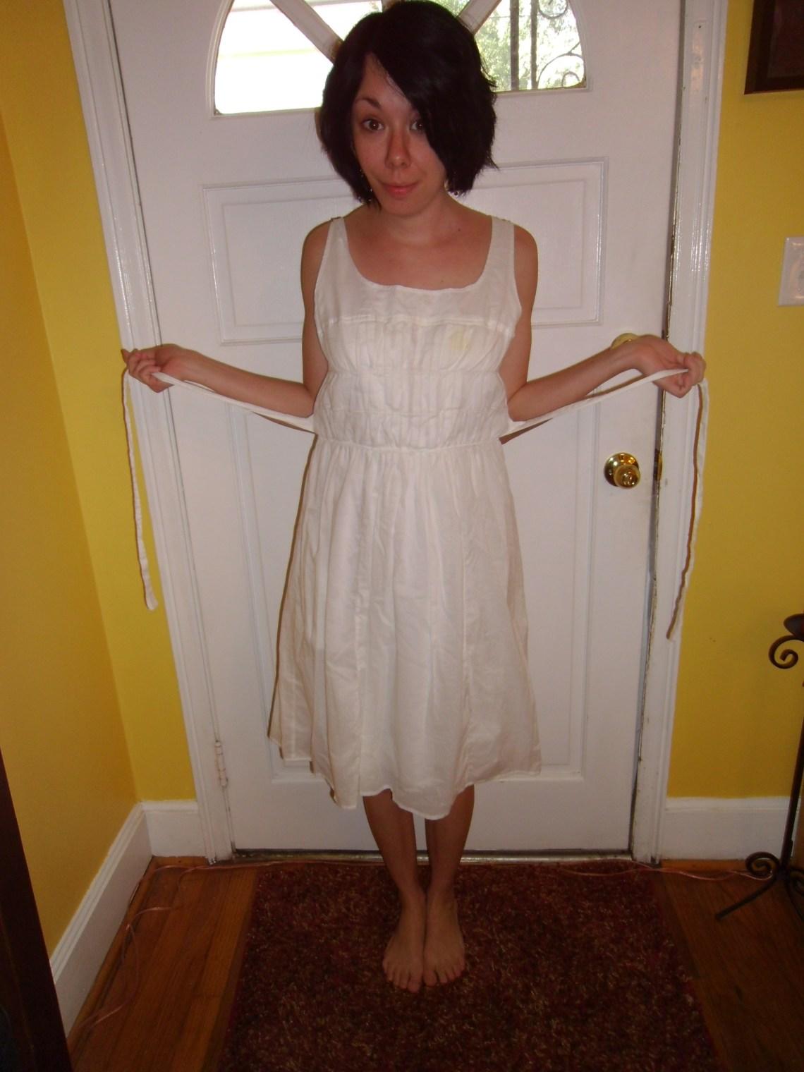 Day 123: Pumpkin Patch Dress 1