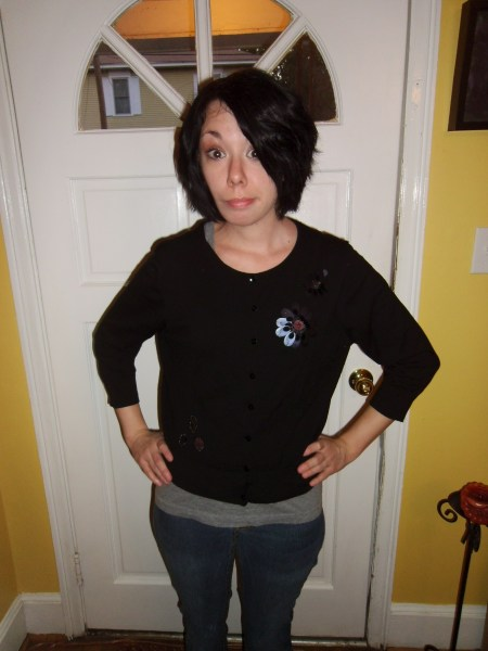 Day 124:  Cayce Pollard Sweater 2