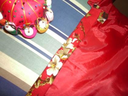 Day 175:  Christmas Luncheon Dress 4