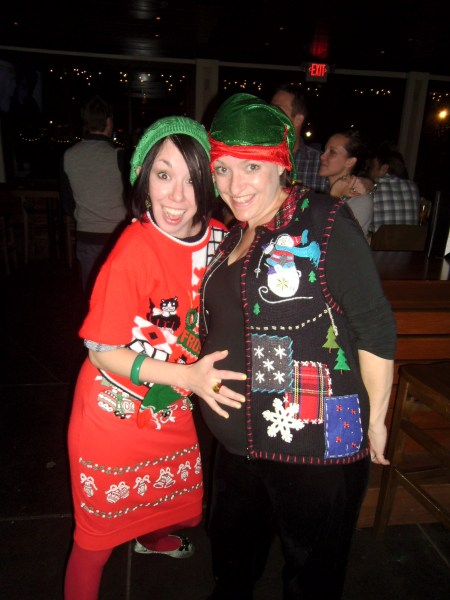 Day 162:  Ugly Christmas Sweater Time! 4