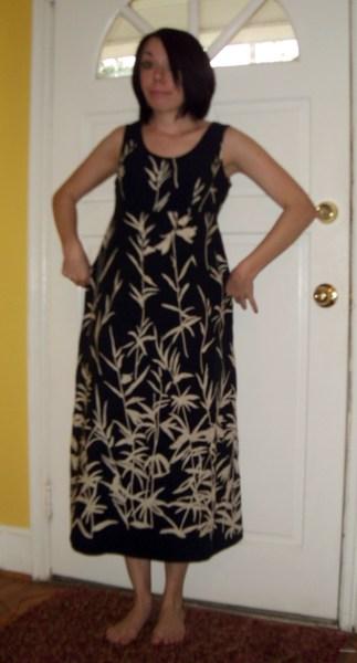 Day 199:  Bamboo Dress 2