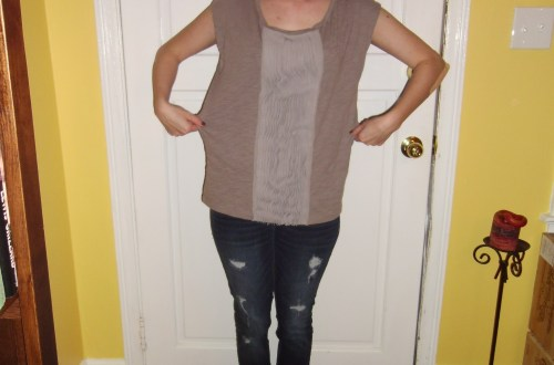 Day 186:  A Ruffled Tee Fit For Me! 6
