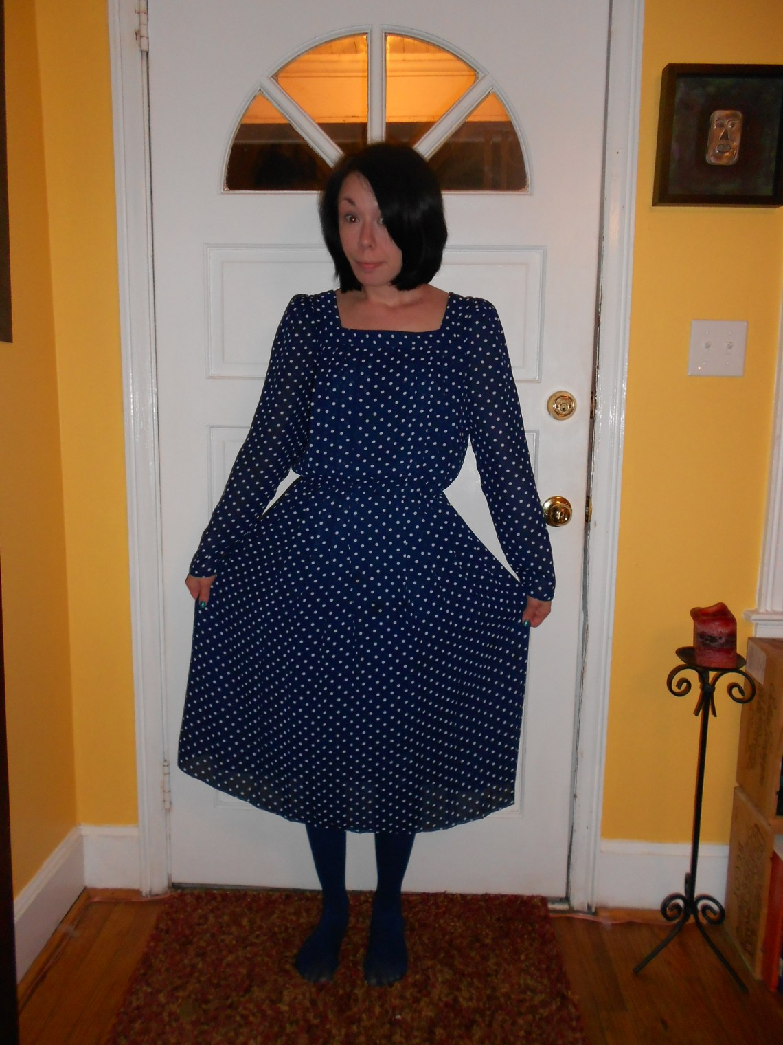 Day 223:  Connect the Dots Dress 1