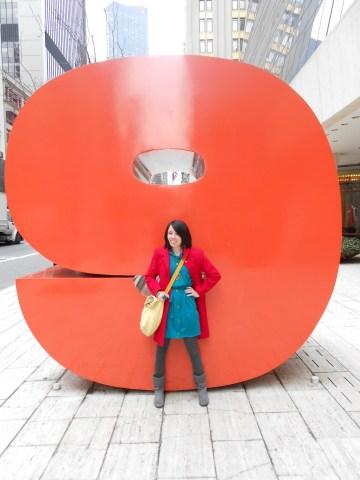 Day 229:  V-day in NYC!!! :) 9