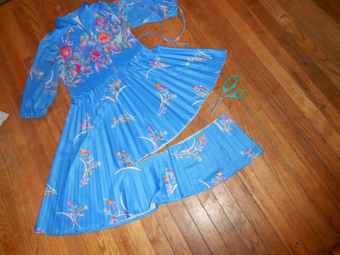 Day 245:  Mandarin Blue Dress 14