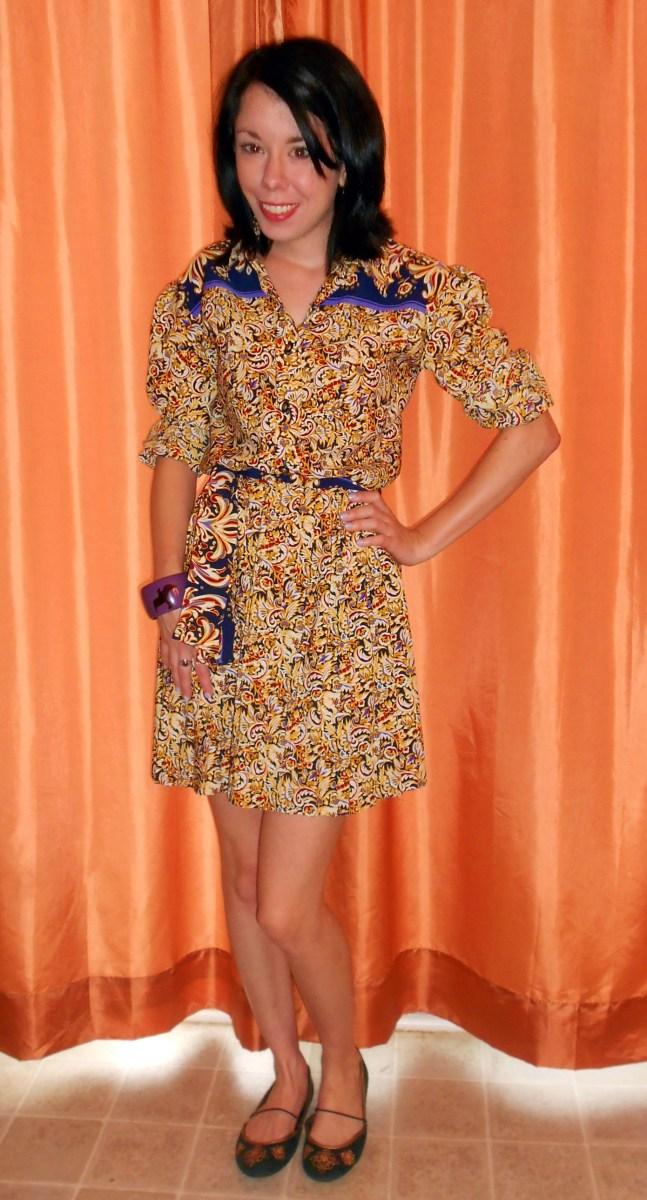 Day 292:  Marigold Dress