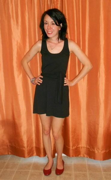 Day 284:  Back in Black Dress 4