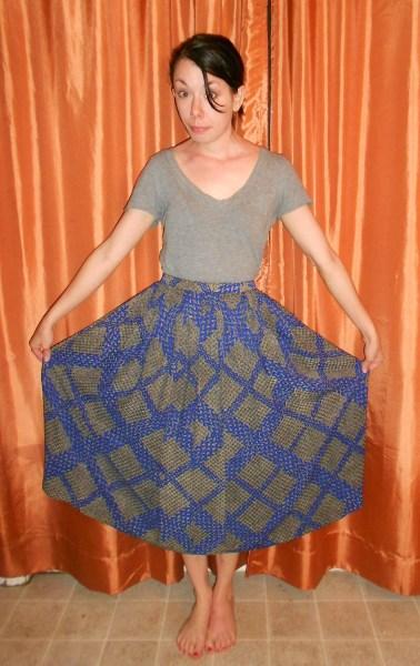 Day 276:  Indigo For It Dress 2