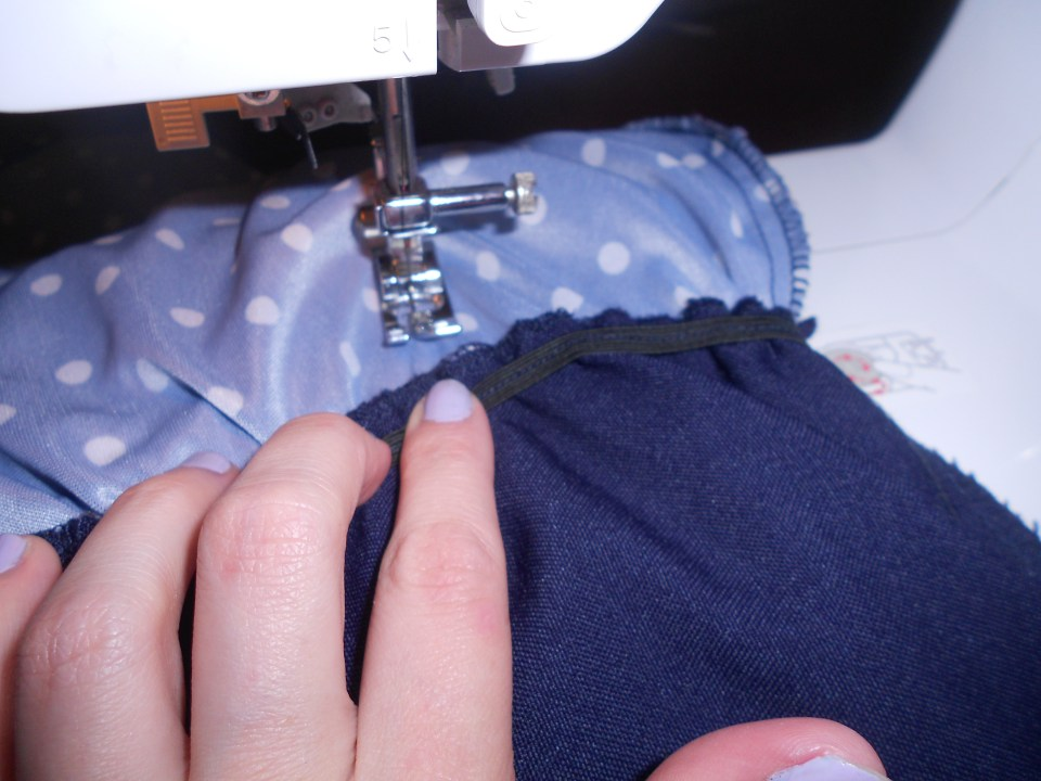 Day 293: Polka Not Dress: How to (Easily) Take in a Thrift Store Dress Using a Dress Form 2