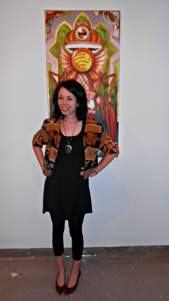 Day 314:  Bibliophile Jacket: A Dress to Jacket Refashion 6