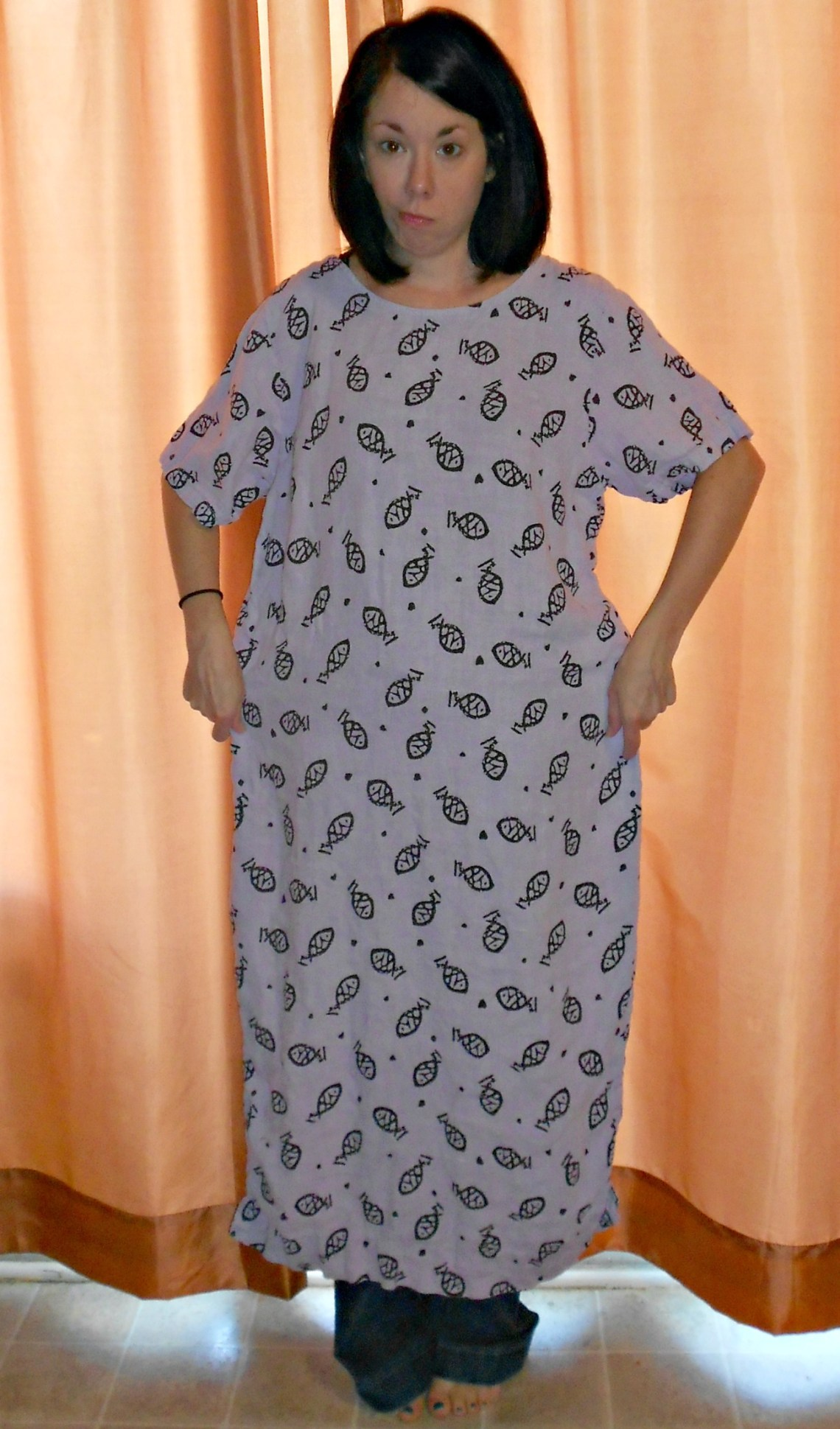 Day 332:  Tunactiy Dress Refashion 1