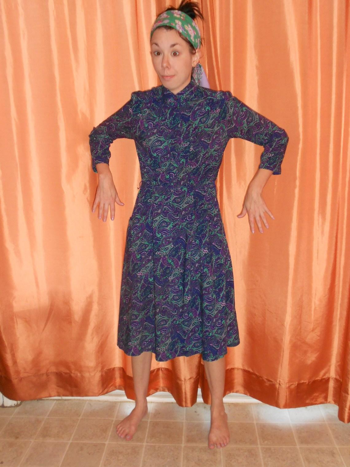 Day 309:  3 Step Dress 1