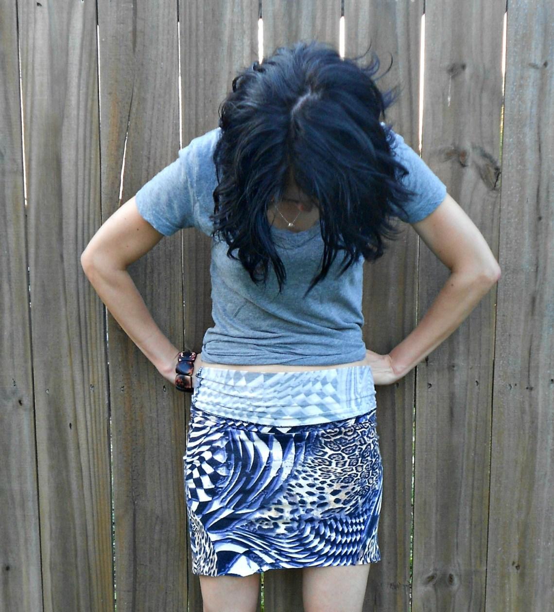 Day 335:  Turtleneck Skirt 19