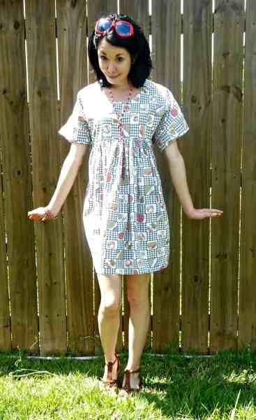 Day 343: Fab Foodie Dress 8