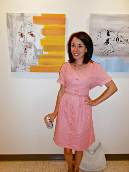 Day 337:  Art Collector Dress 6