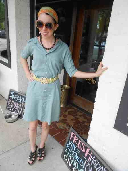 Day 360:  Spearmint Dress 8