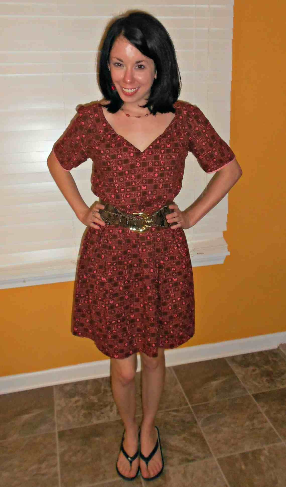 Day 365:  Kitschy Dress 5