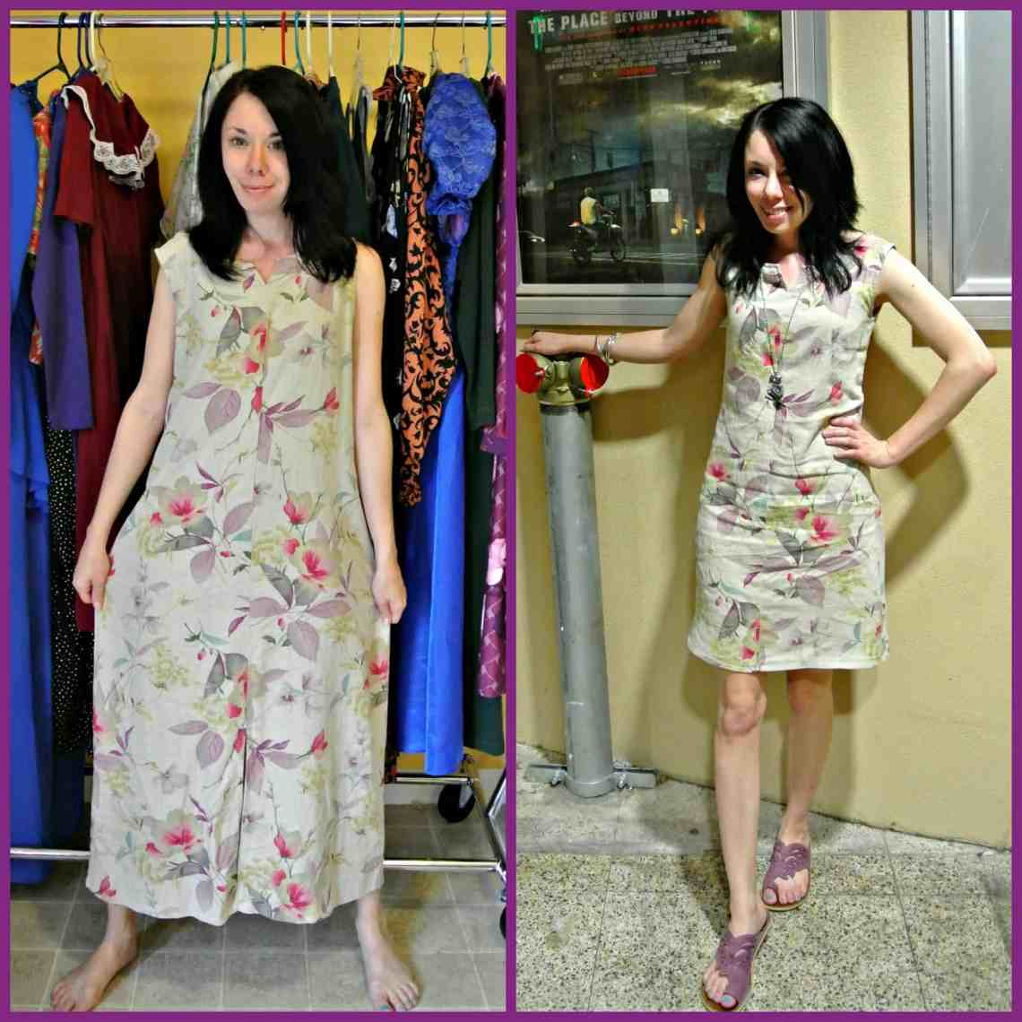 Q&A Monday:  How to Refashion without a Dress Form 1