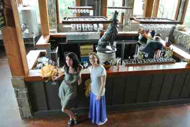 We went to Wolf Creek Vineyards twice!  :)