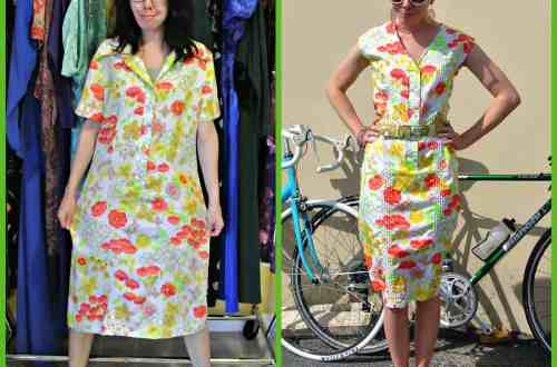 Wannabe Wednesday:  A Lilly Pulitzer-Inspired Refashion 21