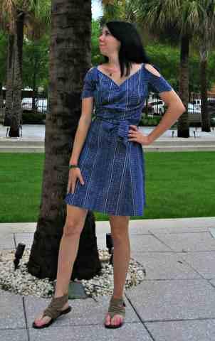 A couture copycat!