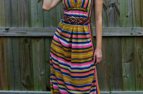 An Amazing Technicolor Dream Dress 14