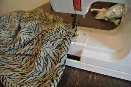 I brought a mini sewing machine!