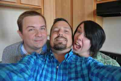 Rabid selfie!
