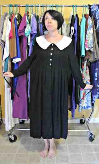 This dress needs your prayers, folks.  :/