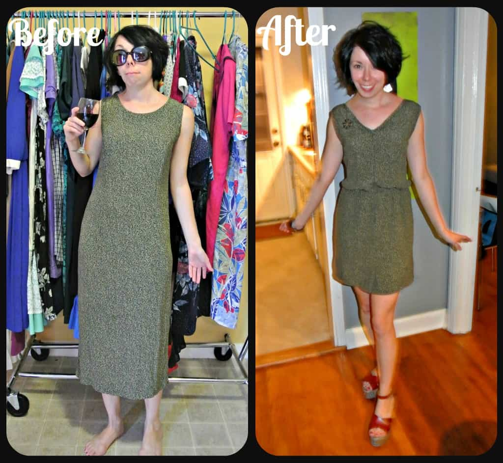 How to Add a Fantastic Elastic Waist to Just About Any Dress! 1