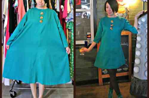 A Teal Brunch Dress 4