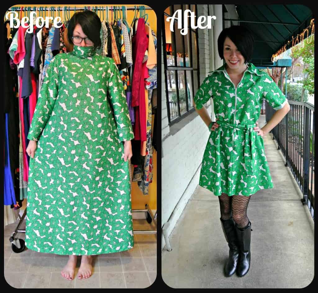 Green Poppy Dress 1