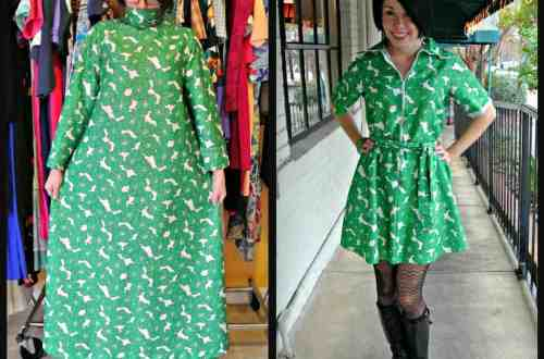 Green Poppy Dress 8
