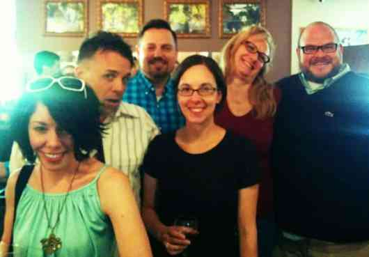 Saturday wine tasting crew!