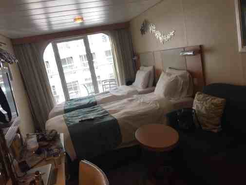 The boat is huge, but the rooms are teeny!