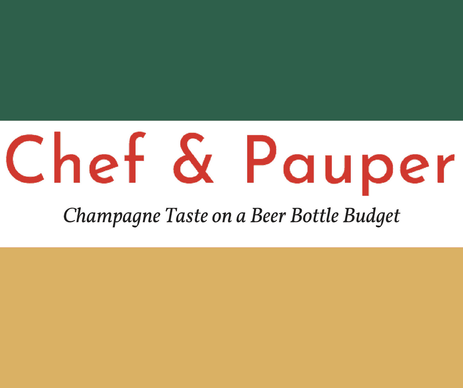 My New Blog: Chef & Pauper 5