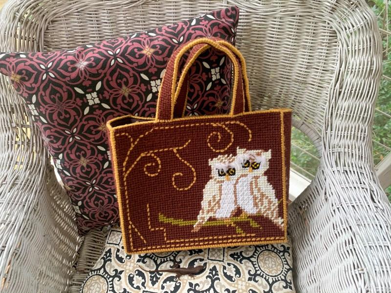 refashionista owl bag