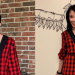 A Happy Birthday DIY Button Up Shirt to Skirt No Sew Refashion 4