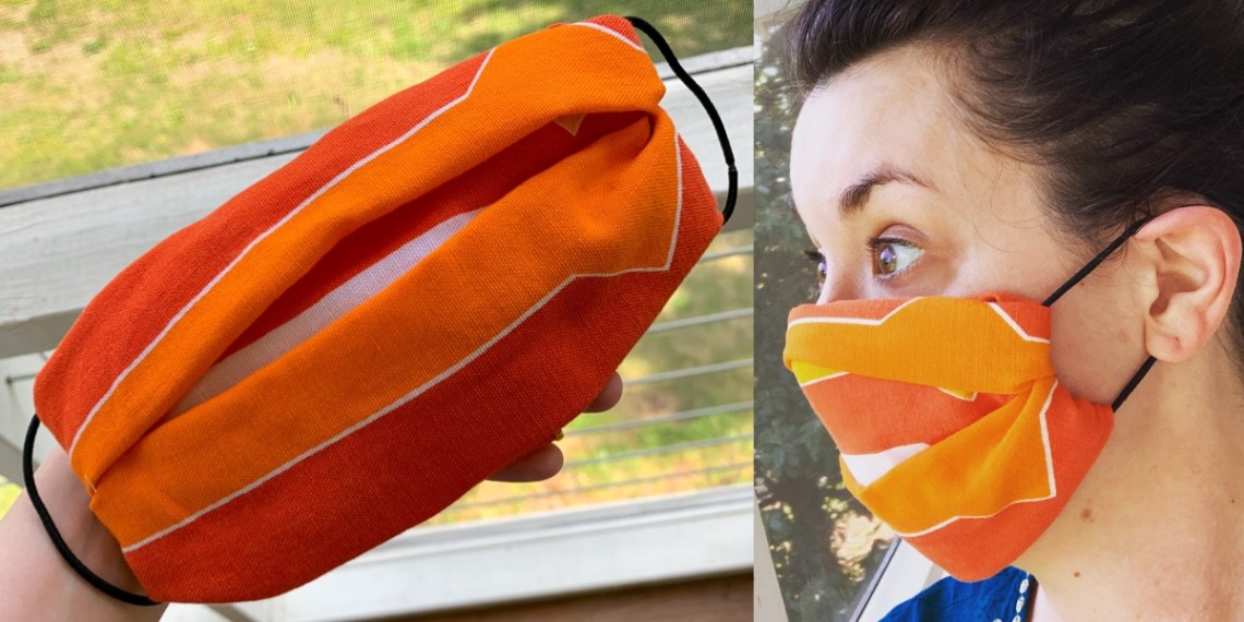 How to Make a No-Sew Face Mask 4