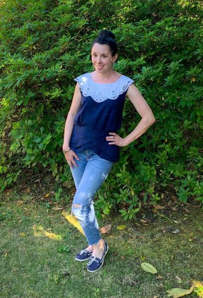 '90s Kathie Lee Dress Refashion